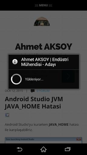 AHMET AKSOY - IE ADAYI