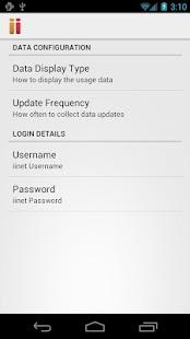 iinet Usage Meter - screenshot thumbnail