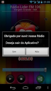 Rádio Lider FM 104 VG- screenshot thumbnail