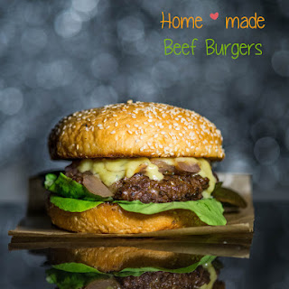 Home-made Beef Burgers