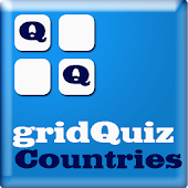 World Countries on gridQuiz