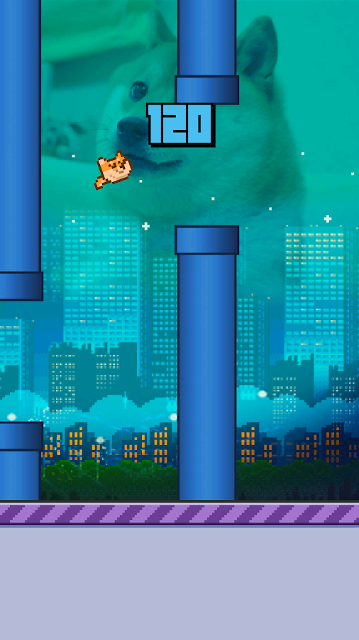 Flappy Doge- screenshot