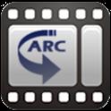 arcMedia Pro (neon) logo