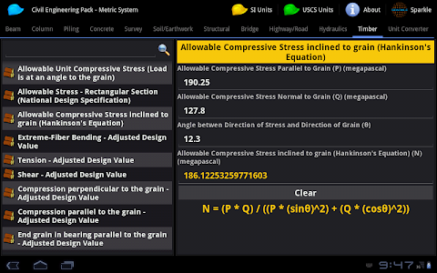 Civil Engineering Pack Tablet screenshot 12