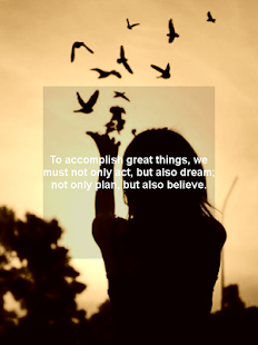 ❝ Dreams quotes - screenshot thumbnail