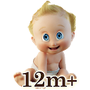 Baby First Words: 12+ Months mobile app icon