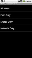 Screenshot of Music Flash Cards Pro