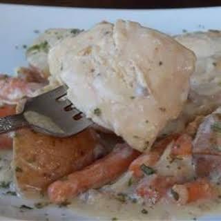 Slow Cooker Chicken Dinner.