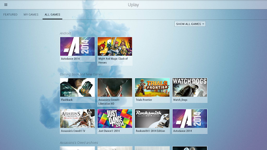Uplay - screenshot thumbnail