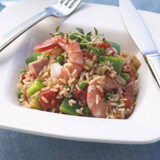 Ham & Shrimp Jambalaya