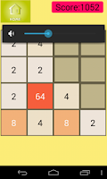 Screenshot of 2048 : The Number Puzzle