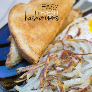 Easy Fresh Hashbrowns.