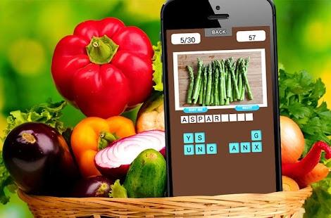 蔬菜小测验