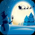 Christmas Snowflakes LWP FREE icon