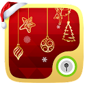 Xmas hangings Live GO Locker icon