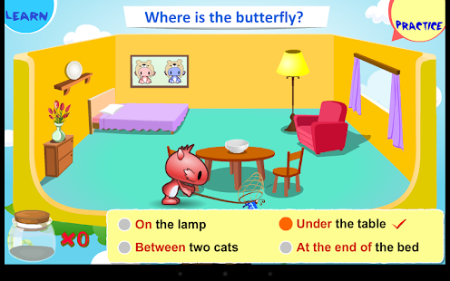 Kids Grammar Prepositions 1 - screenshot thumbnail