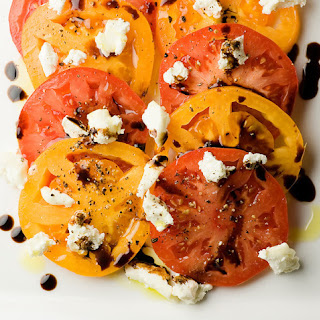 Tomato Goat Cheese Salad