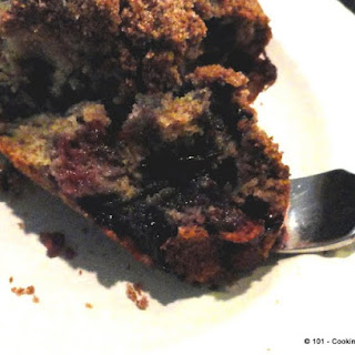 Blueberry Buckle Coffee Cake- The Full Monty