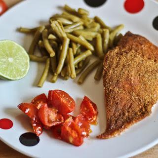 Easy Cajun salmon