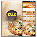 CLUSTER Pizza Talk logo