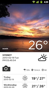Take Weather (Photo & Sharing) - screenshot thumbnail