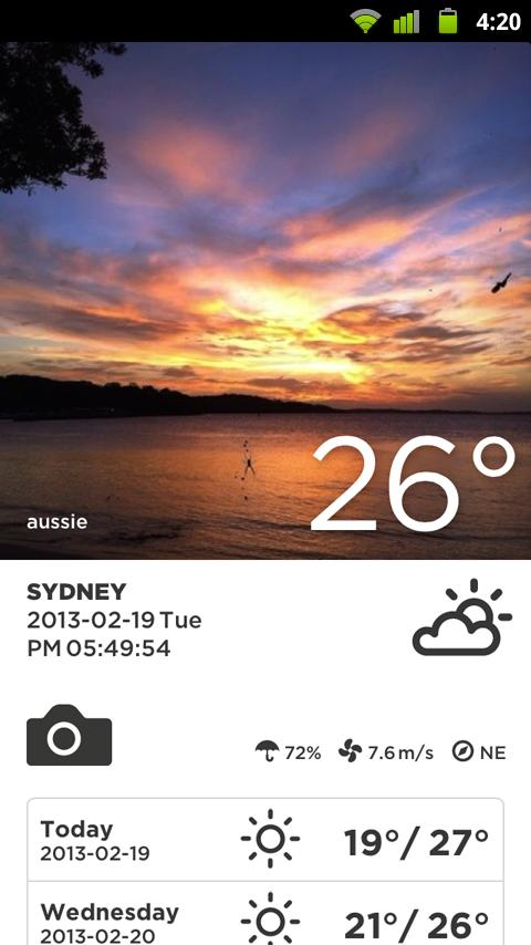 Take Weather (Photo & Sharing) - screenshot