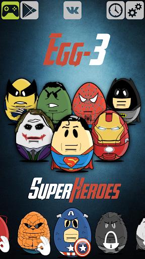 Egg-3 Superheroes