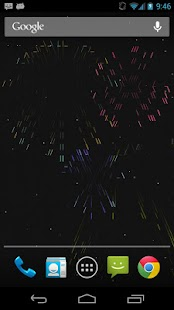ASCII Fireworks Live Wallpaper - screenshot thumbnail