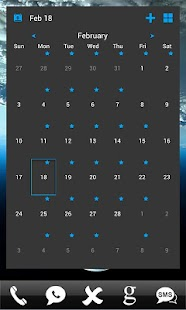 APW Themes: Blue(Dark)- screenshot thumbnail