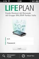 Screenshot of FP BNL/BNPP Italia Life Plan