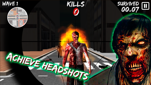 Zombie Sniper Game 1.08 screenshots 7