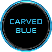 Carved Blue-UCCW