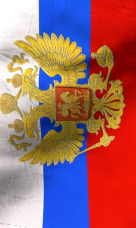 Russia flag free livewallpaper - screenshot