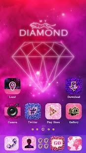 My Diamond GO Launcher Theme - screenshot thumbnail