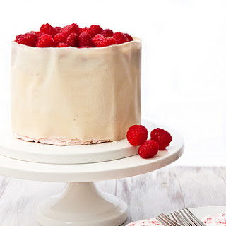 Raspberry Swiss Meringue Buttercream