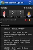 Screenshot of Real Sociedad Liga Gol