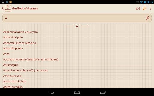 【免費醫療App】Handbook of diseases-APP點子