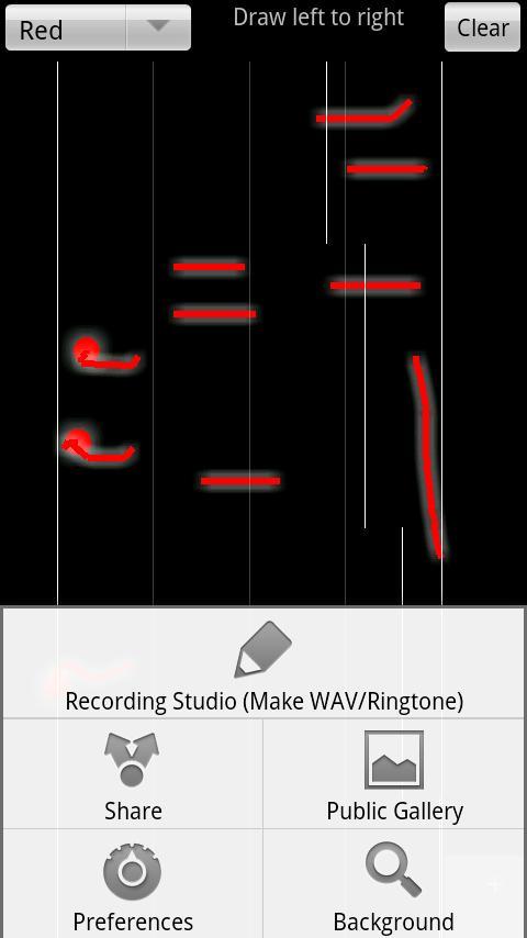 Super Draw Music MonadPad- screenshot