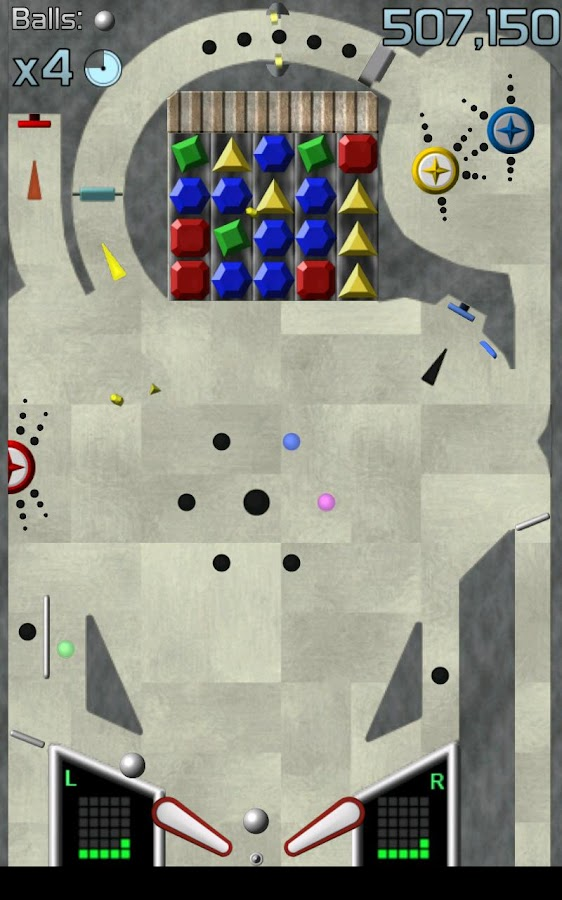 Jewel Bash Pinball - screenshot