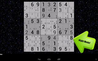 Screenshot of Handwrite Sudoku