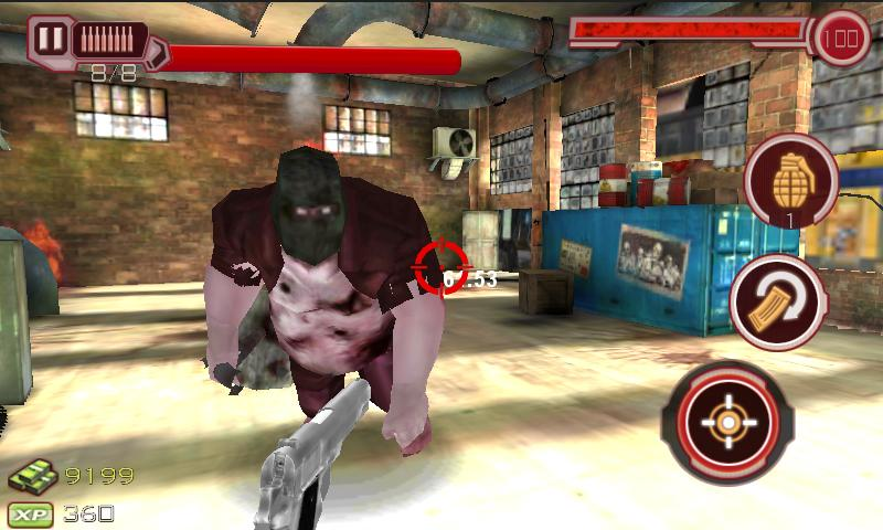 Zombie Sniper 3D II- screenshot
