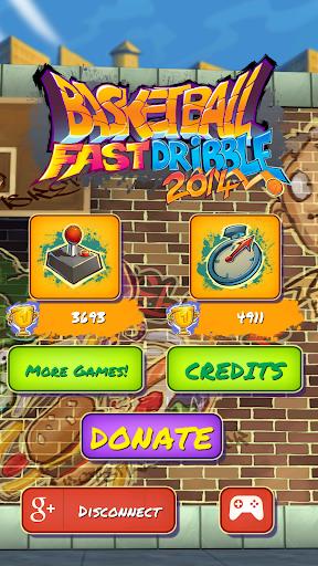 Basketball Fast Dribble 2014