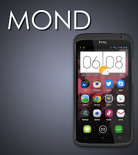 MOND - Launcher Theme - screenshot thumbnail