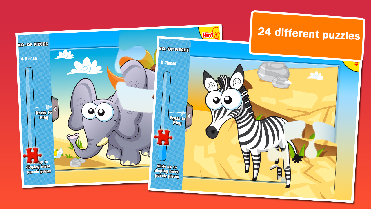 Preschool Puzzles: Animals- screenshot