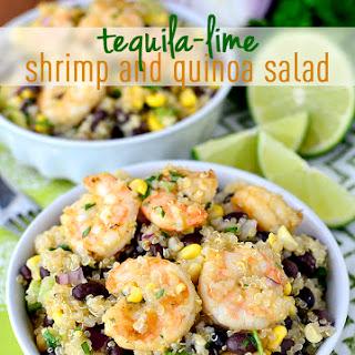 Tequila-Lime Shrimp and Quinoa Salad