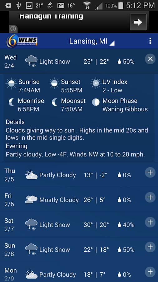 StormTracker 6 - Weather First - screenshot