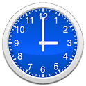 Analog clocks widget – simple icon