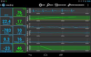 Screenshot of Sensors Toolbox - SenseView
