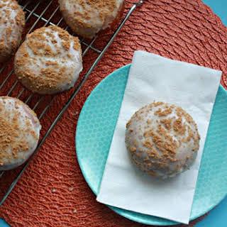 Key Lime Pie Doughnuts with Coconut Glaze.