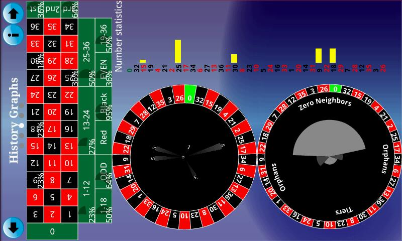 Roulette Predictor - screenshot